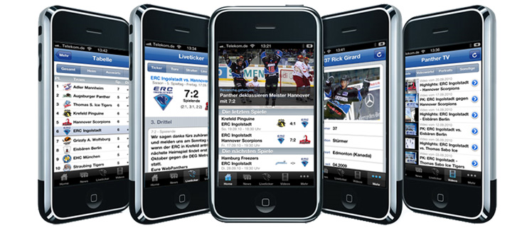 ERC iPhone App